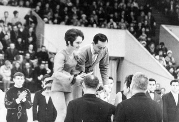 Тамара Москвина и Алексей Мишин стали чемпионами СССР 1969 года