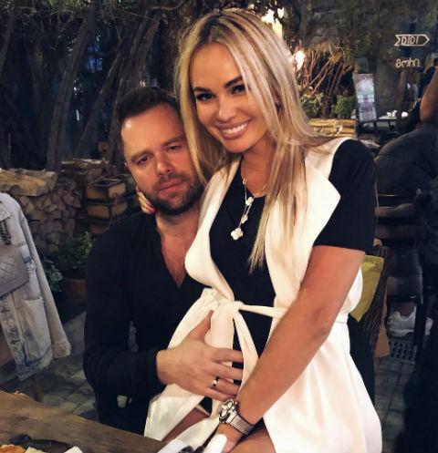 Жене Виталия Гогунского приписывают вторую беременность