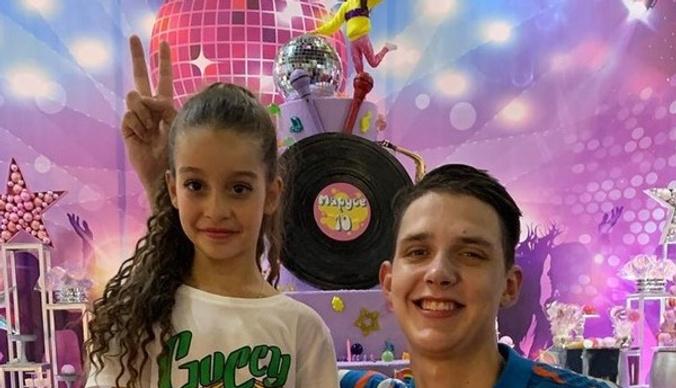 Тима Белорусских спел на дне рождения дочери Ксении Бородиной