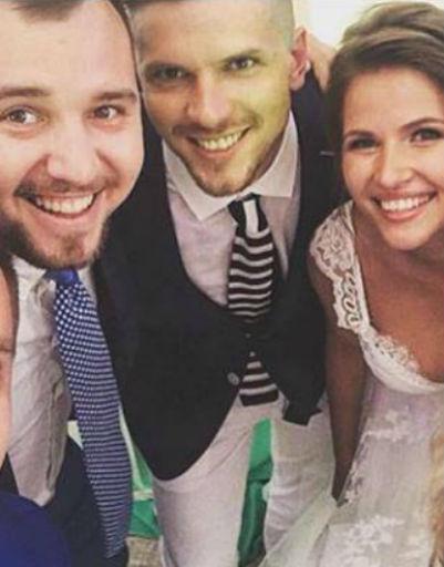 Свадьба Игоря Чехова и Юлии Топольницкой