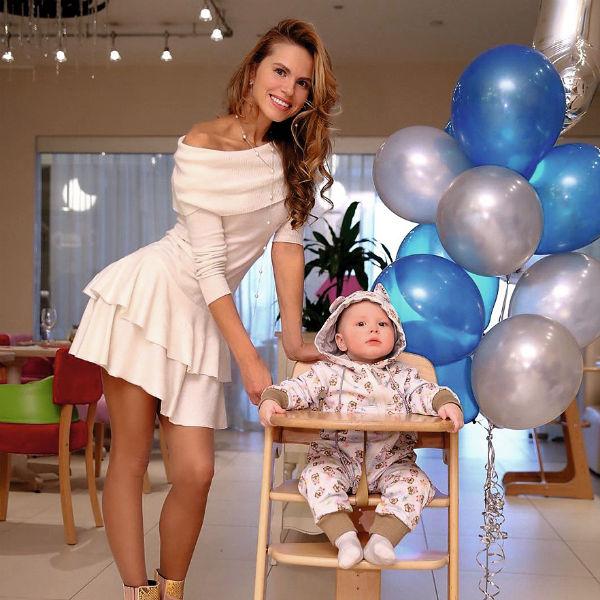 Ольга Мартынова-Казаченко с Филиппом