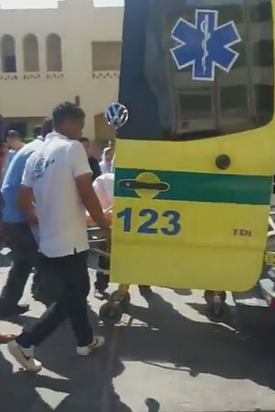 Пострадавших в результате нападения увезли в больницу