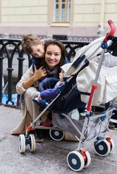 Все свободное время Ольга Павловец проводит с детьми