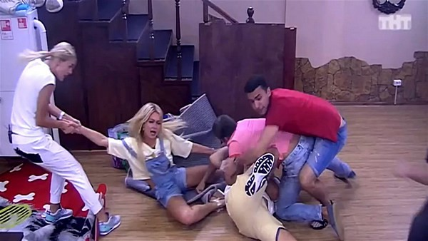 На съемках «Дома-2» часто разгораются серьезные скандалы