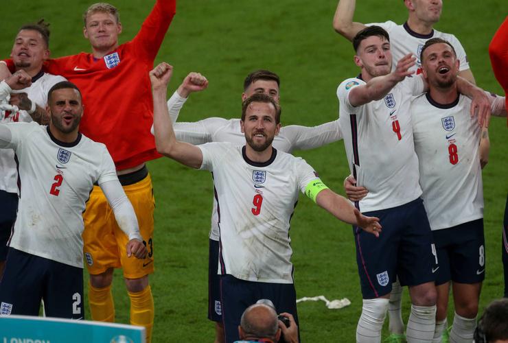 Англия победила на Евро-2020