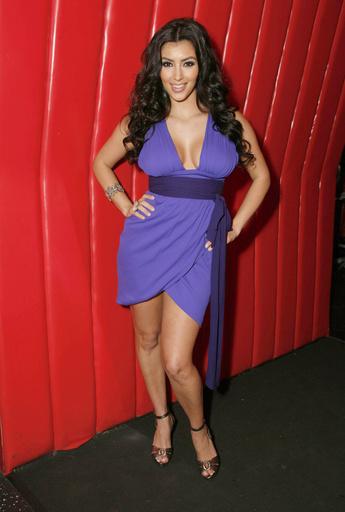 Ким стала популярна после шоу «Семейство Кардашьян»