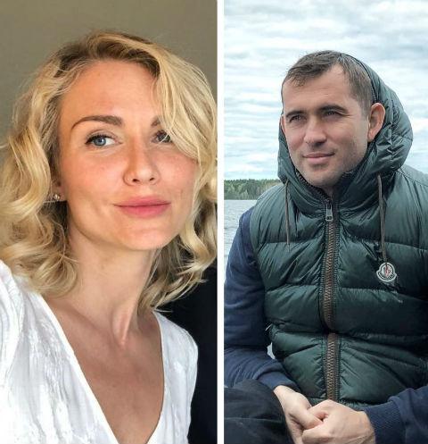 Катя Гордон и Александр Кержаков