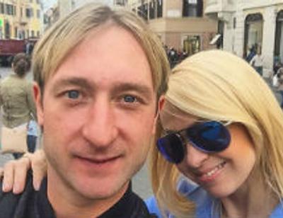 Евгений Плющенко намекнул на скорое прибавление в семье