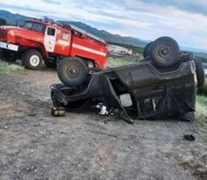 В Туве семеро подростков угнали машину и попали в смертельное ДТП