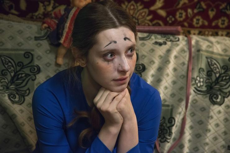 Актриса сыграла одну из главных ролей в сериале «Ненастье»
