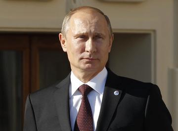 Владимир Путин упал на ковровой дорожке