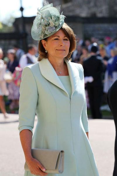 Кэрол Миддлтон часто выходит в свет, выбирая элегантные наряды