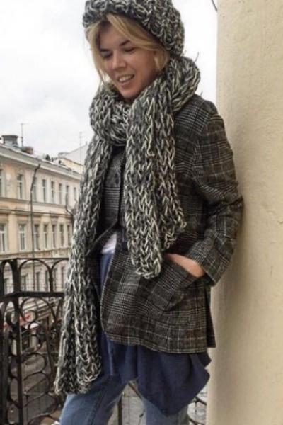 Жена Александра Цекало Виктория Галушка