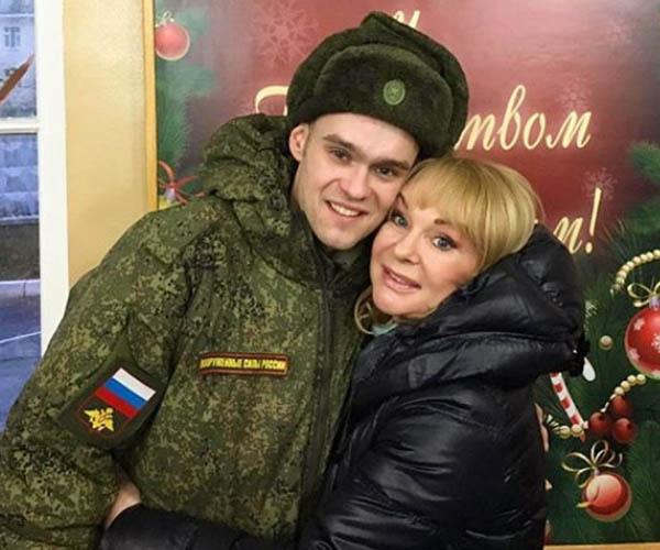Ирина Цывина с сыном Евгением