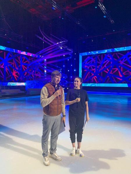 Алина Загитова и Алексей Ягудин на съемках «Ледникового периода» – первые фото