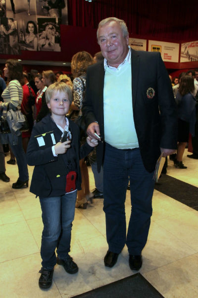 Сергей Проханов с внуком