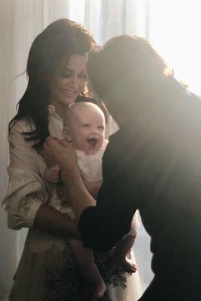 В октябре прошлого года Анастасия стала мамой в третий раз