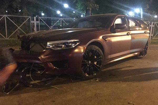 В ночь на 1 августа 2018-го Федор Смолов попал в ДТП в Краснодаре