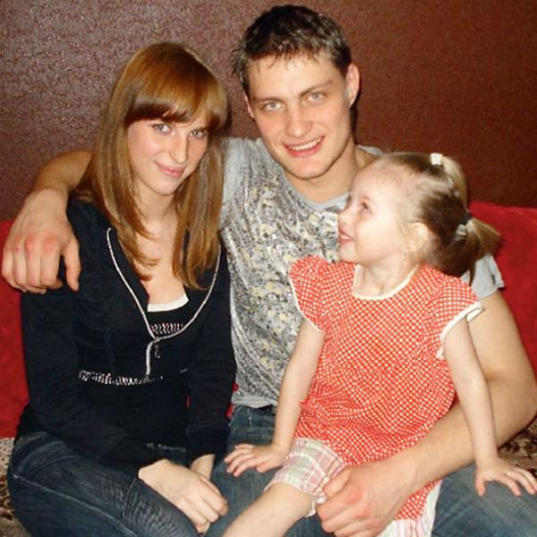 Александр Задойнов с бывшей супругой Светланой и дочкой Анастасией