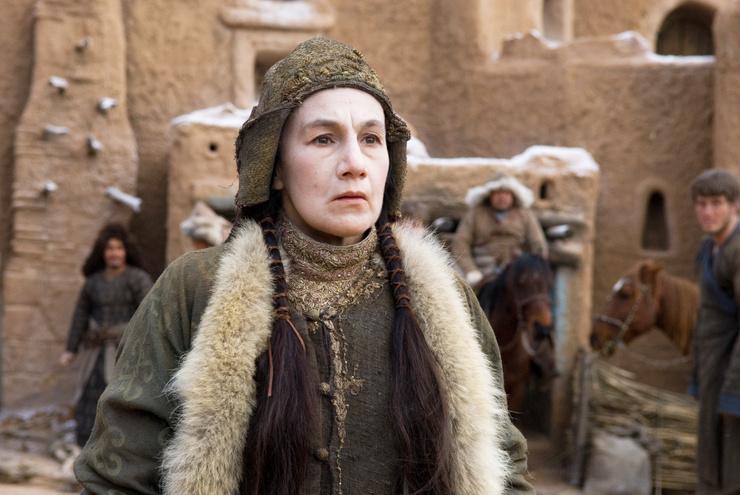 Успехом обернулась для Розы Вакильевны роль Тайдулы в ленте «Орда»