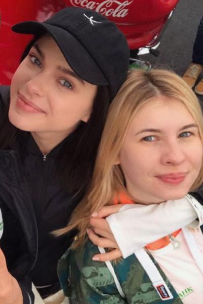 Лена Темникова и Анна Цуканова-Котт