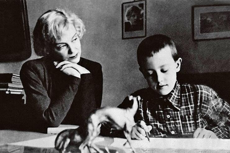 После развода родителей сын Андрей предпочел остаться с отцом