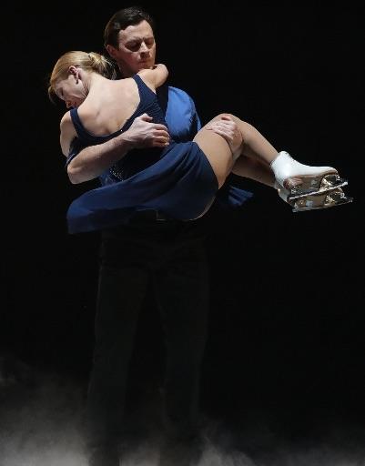Олимпийские чемпионы Татьяна Тотьмянина и Максим Маринин