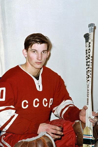 С юных лет Владислав Третьяк играл в хоккей