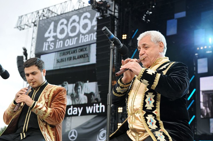 Дживан Гаспарян последние годы выступал с внуком Дживаном Гаспаряном-младшим