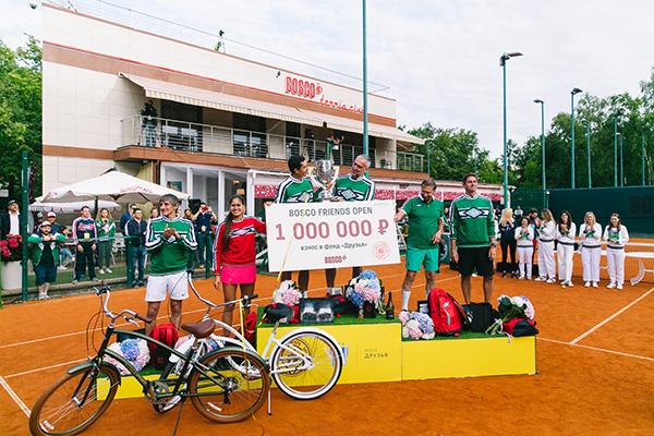 Награждение победителей турнира BoscoFriendsOpen