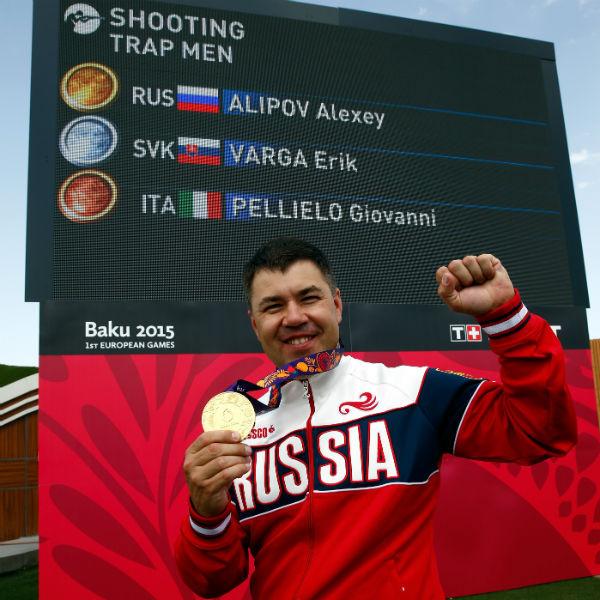 Наш стрелок  Алексей Алипов–  лучший