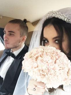 Виктория Дайнеко со спутником жизни Дмитрием Клейманом