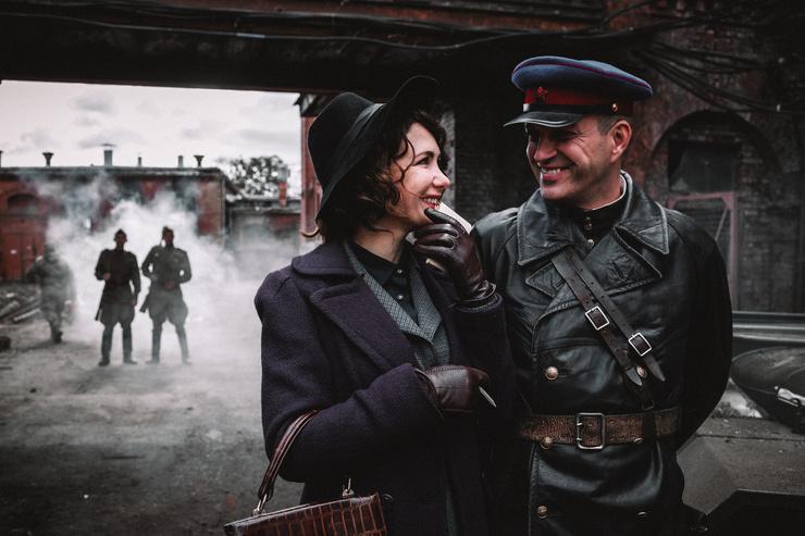 Климова и Воловенко в сериале