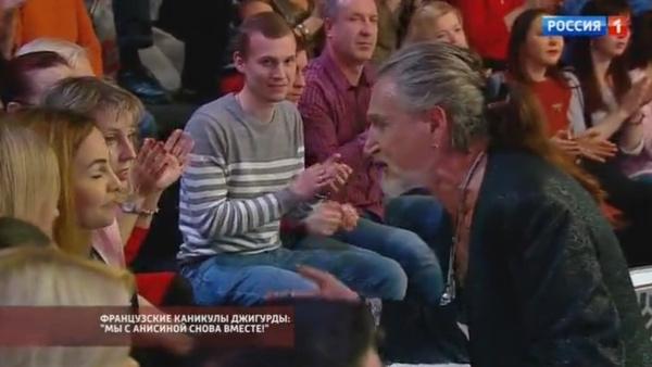 Никита Джигурда вступил в полемику с гостями телешоу