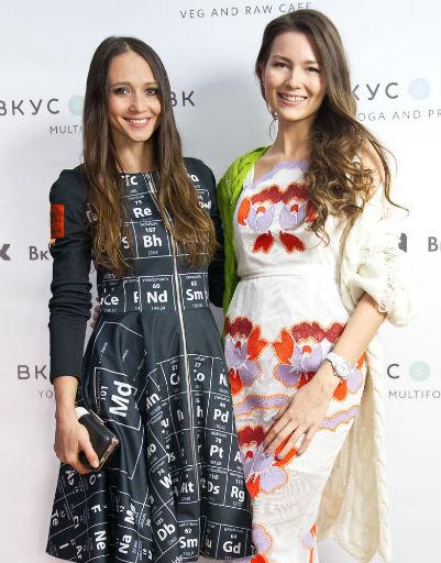 Даша Гаузер и Алена Злобина