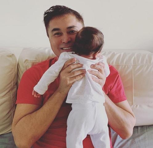 Арман Давлетяров с младшим сыном