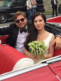 Иван Парфенов и его жена Мария Бройтман