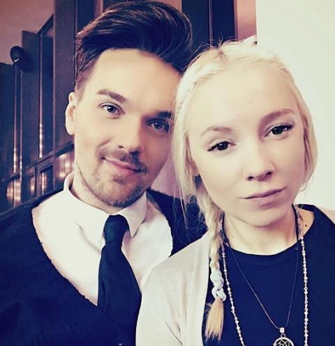Александр Панайотов с Катей