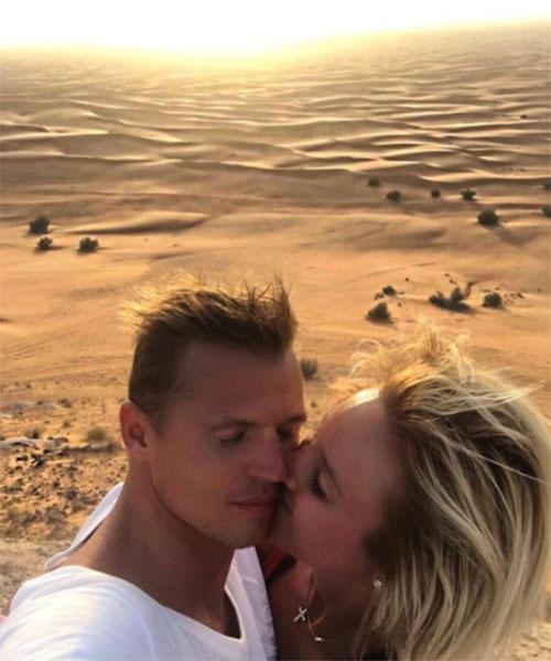 Ольга Бузова и Дмитрий Тарасов не стесняются демонстрировать свои чувства