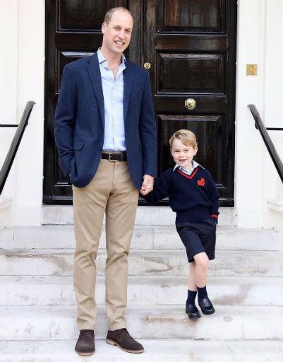 Поклонники уверены, что маленький Джордж унаследовал обаяние от своего отца