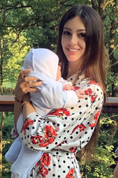 Пока Оксана сама заботится о сыне
