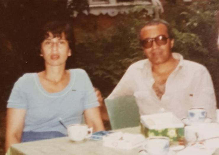 Хосин вместе с женой Галиной
