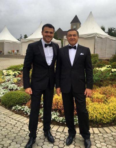 Эмин с отцом, Арасом Агаларовым