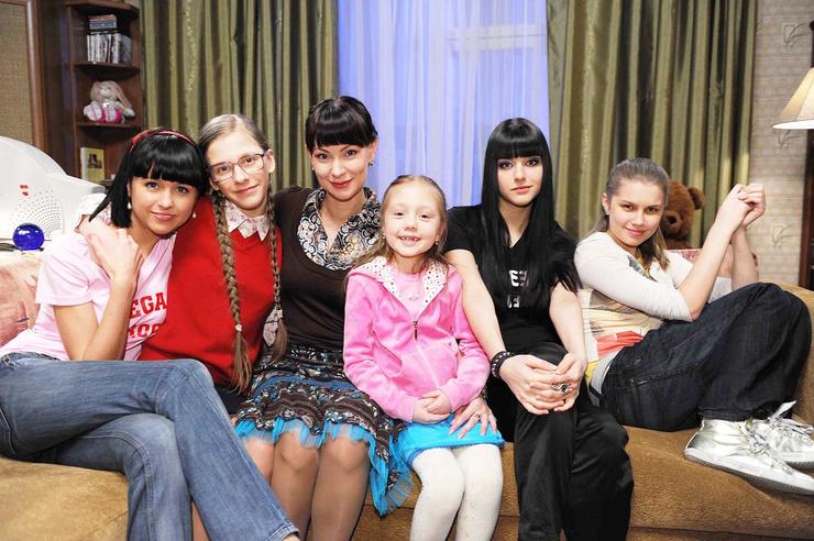 Звезда гармонично влилась в сериал «Папины дочки»