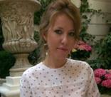 Ксения Собчак посетила показ Ульяны Сергеенко в Париже