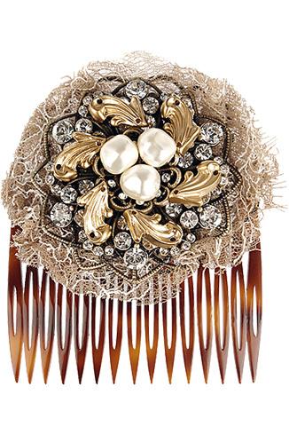 Dolce & Gabbana Брошь-гребень, 7300 руб.