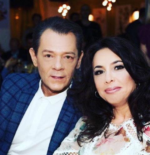 Вадим Казаченко и Ирина Аманти