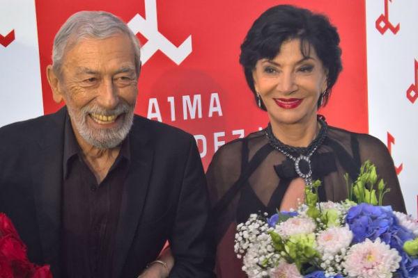 Нани Брегвадзе и Буба Кикабидзе