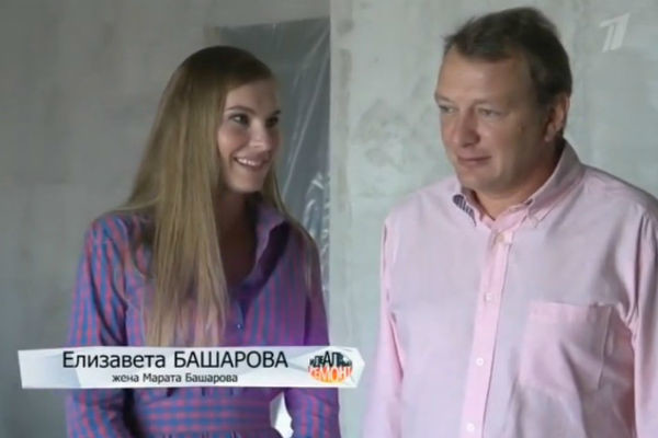 Марат Башаров знаком с Елизаветой уже шесть лет