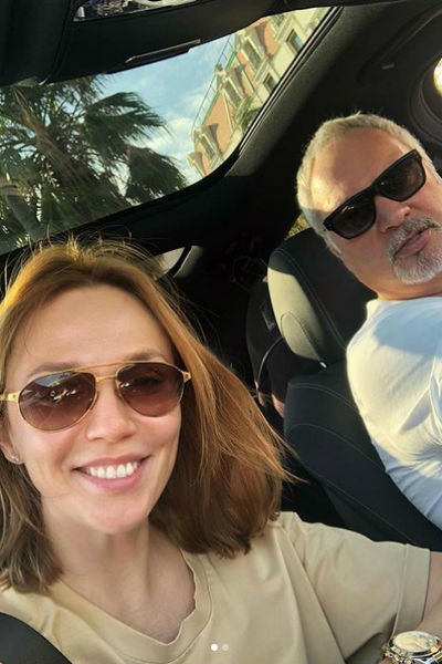 С мужем Валерием Меладзе